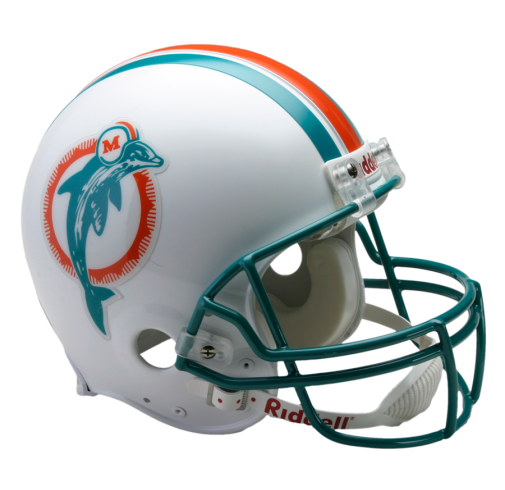 505x490 Miami Dolphins Riddell Throwback 1980 To 1996 Full Size Authentic