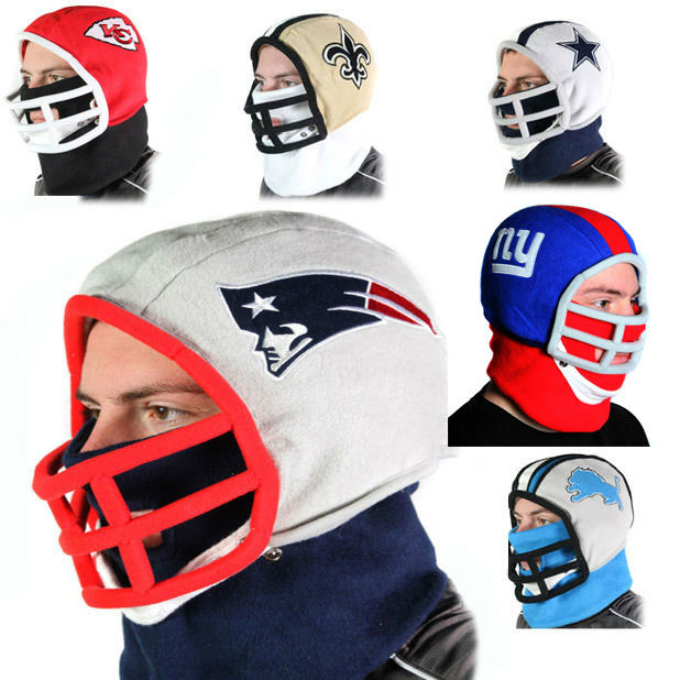 618x618 Nfl Team Helmet Fleece Hat Officially Licensed