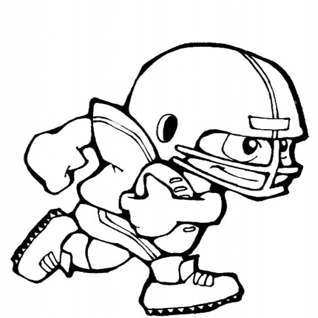 1024x1024 Beautiful Nfl Coloring Pages To Print