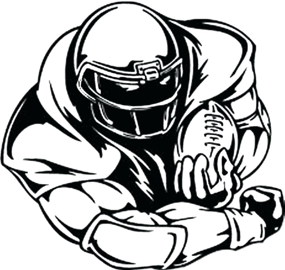 Nfl Football Player Drawings | Free download best Nfl Football ...