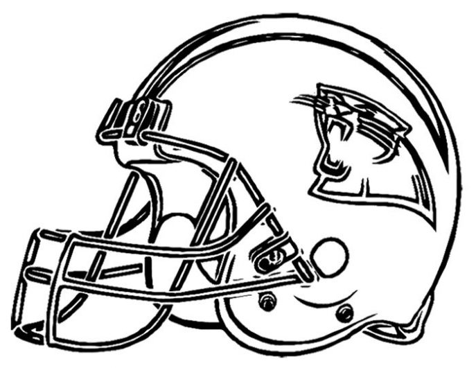 687x531 Coloring Pages Carolina Panthers Coloring Pages Nfl American