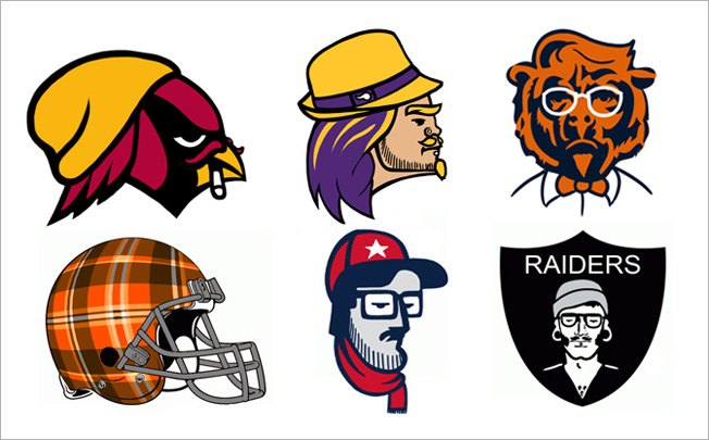 652x405 If Nfl Logos Were Hipsters Adweek