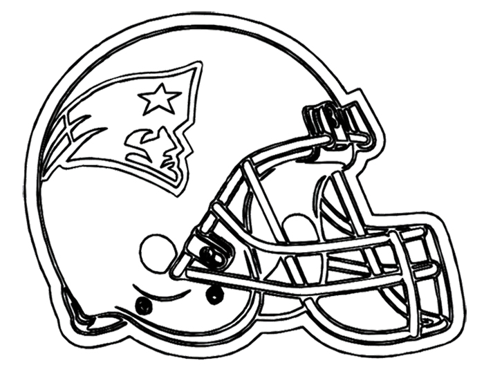 700x541 Nfl Helmets Coloring Pages