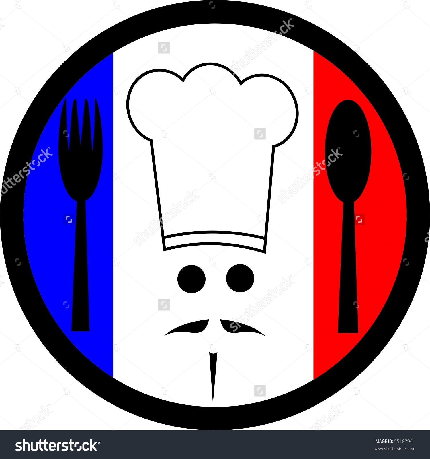 1500x1600 French Chef Clipart