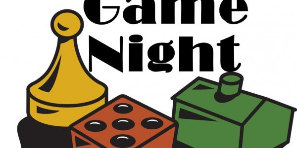 600x300 Game Night Clipart