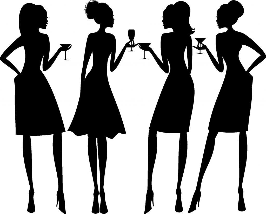 1024x825 Girls Night Out Clip Art