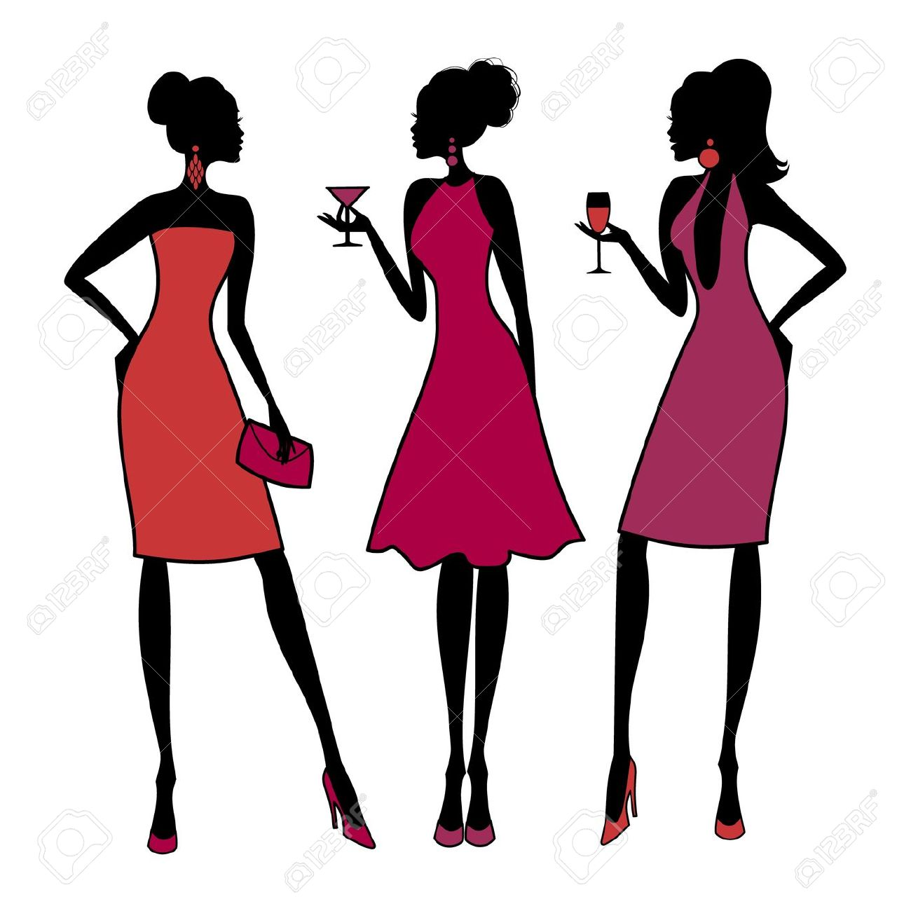 1300x1300 Girls Night Out Clip Art Many Interesting Cliparts