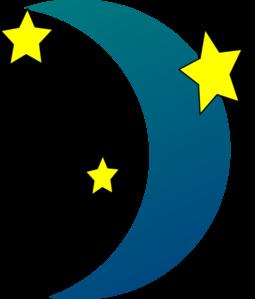255x299 Night Clipart Crescent Moon