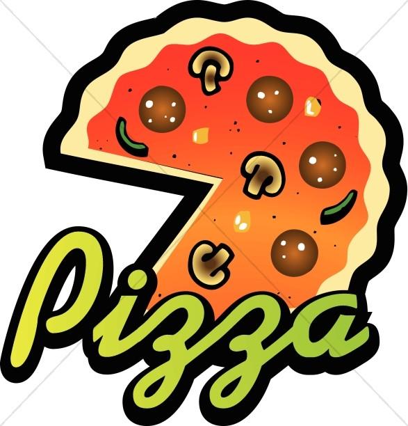 587x612 Pizza Clipart Pizza Night