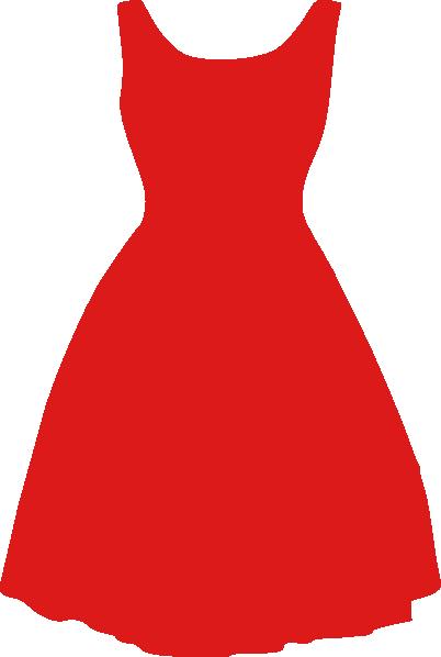 402x598 Pink Dress Clipart Red Dress