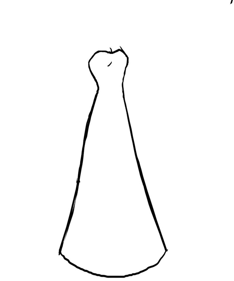816x979 Satin Gown Wedding Dress Png Clip Art Best Web Clipart