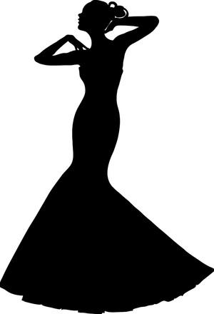 300x440 Simple Wedding Dress Png Clip Art Best Web Clipart