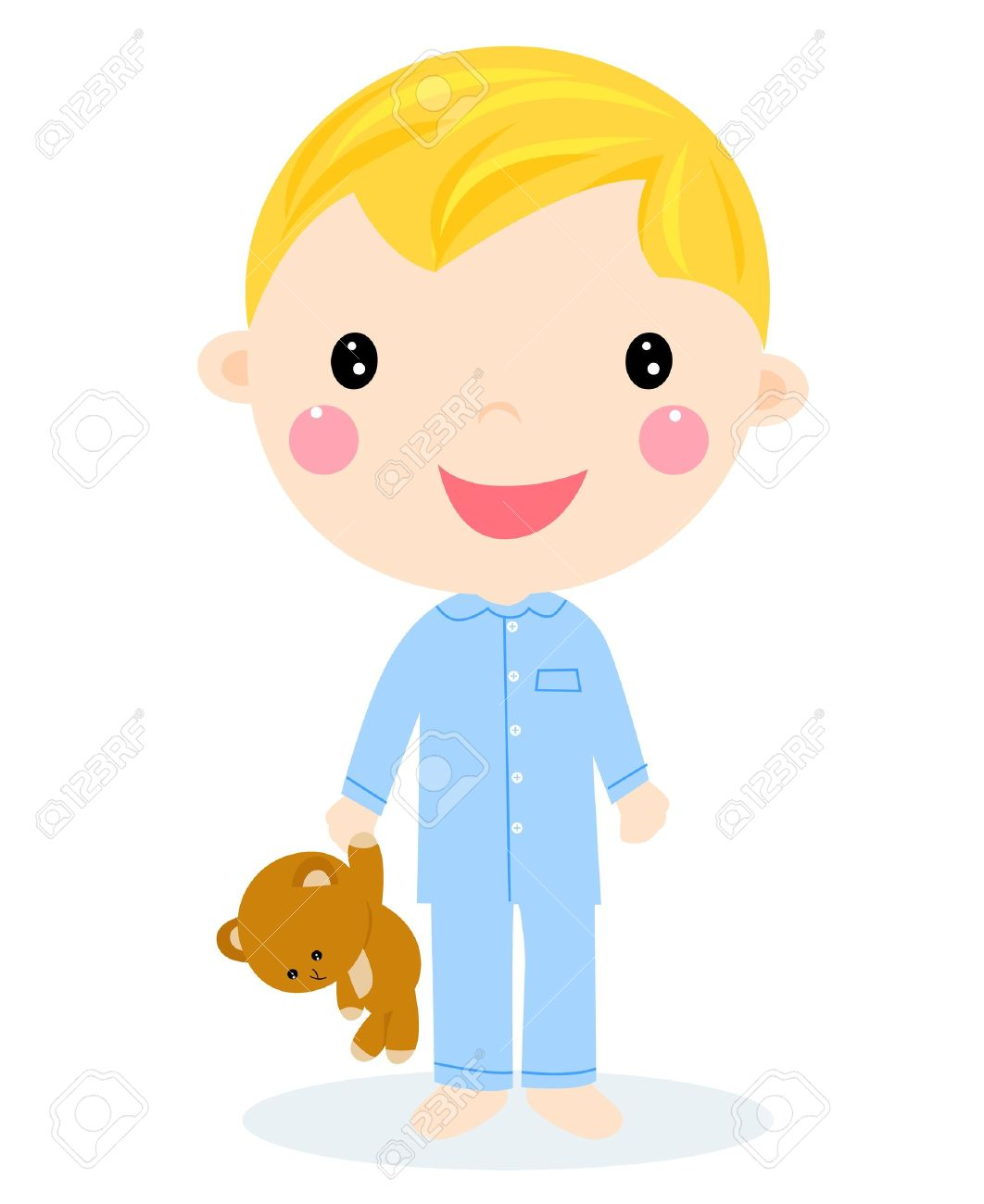 1062x1300 Teddy Clipart Kid Pyjamas