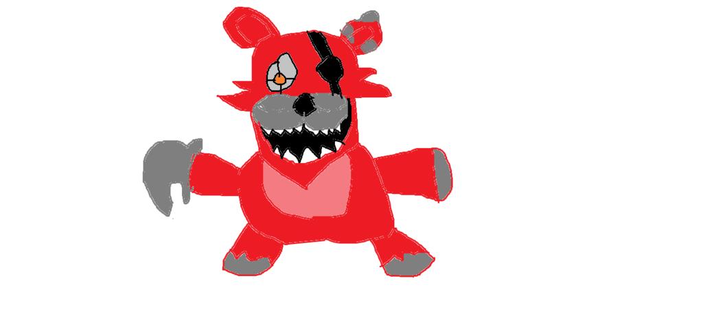 1024x470 Nightmare Foxy Plushie By Xdkacper