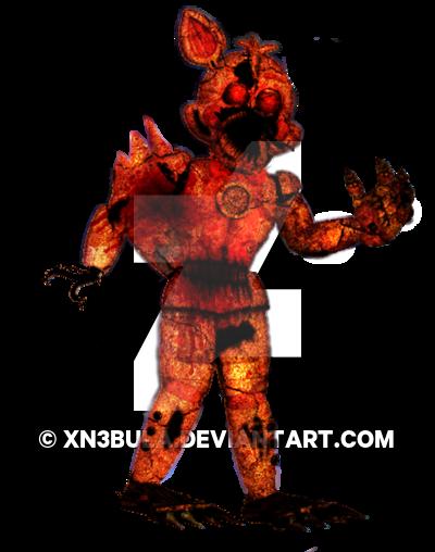 400x508 Nightmare Funtime Foxy V2 By Xn3bula