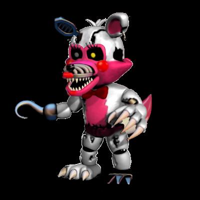 400x400 Nightmare Funtime Foxy By Riolufazbear
