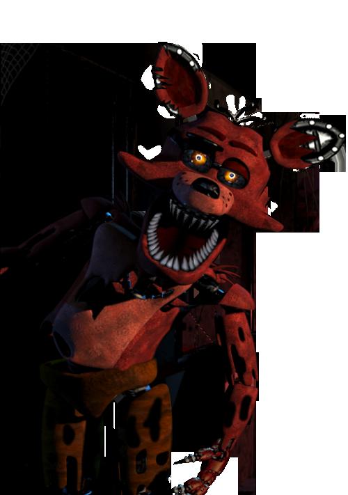 500x711 Nightmare Original Foxy By Waterrush94 On Clip Art