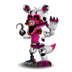 250x250 Adventure Nightmare Funtime Foxy by Javier107 on DeviantArt