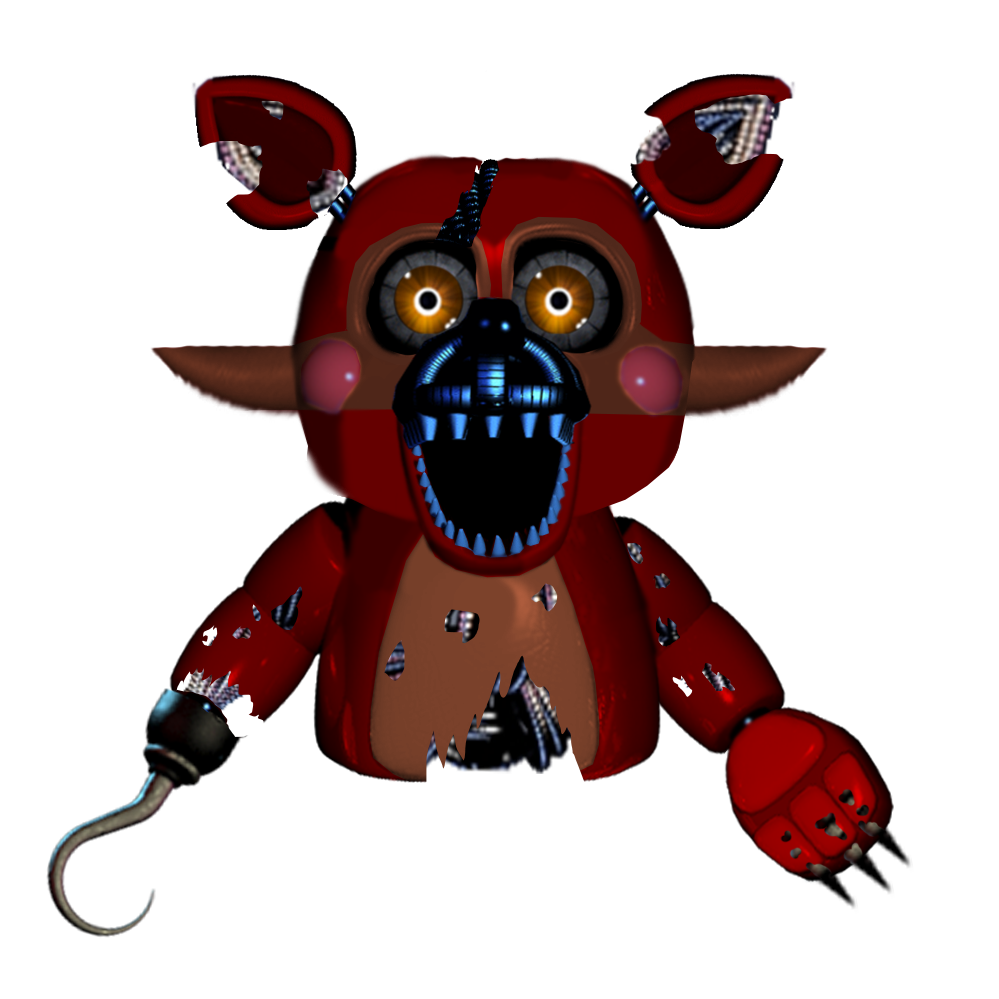 999x999 Puppet Nightmare Foxy By Pkthunderbolt100