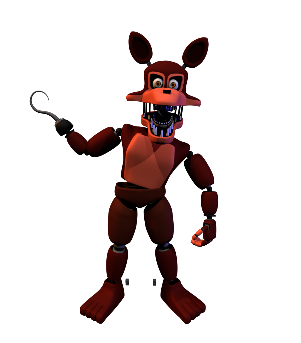 1024x1166 Un Nightmare Foxy By Bananerzdonurtz83