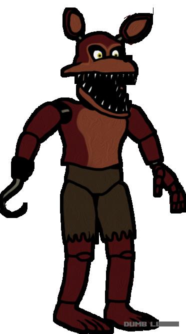 372x668 Nightmare Foxy Clipart
