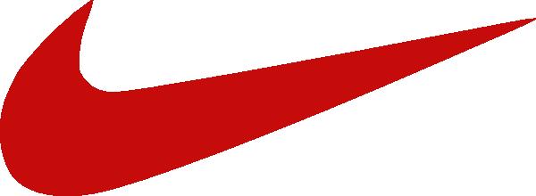 600x220 Red Nike Logo Clip Art