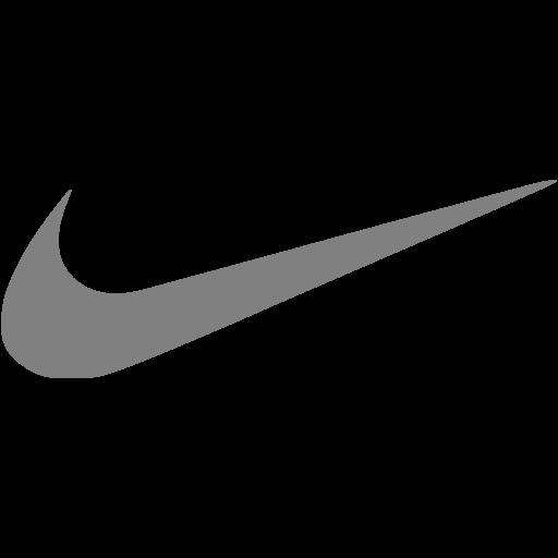 512x512 Gray Nike Icon