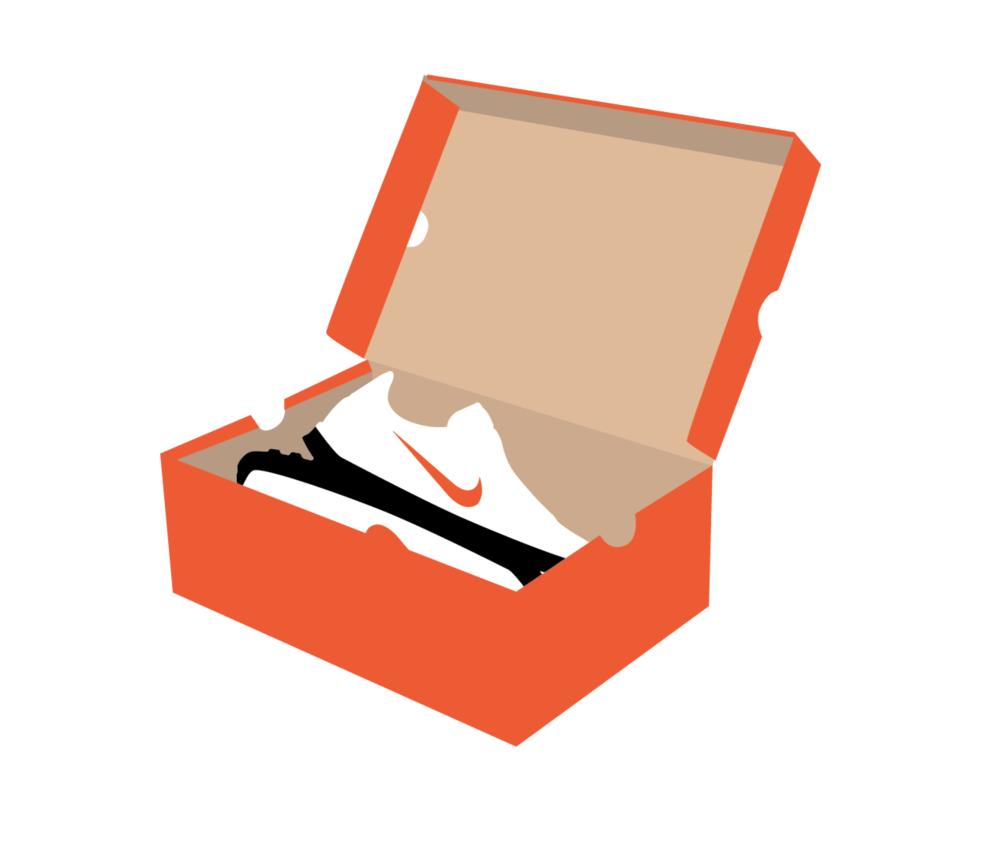 1000x863 Nike Shoe Box Option G Visual Communication