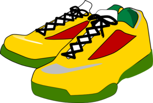 299x201 Nike Running Shoes Clipart Free Clipart Images Image