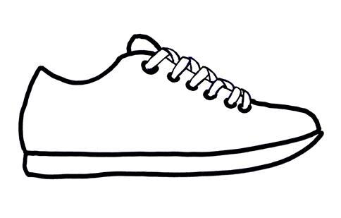 484x309 Tennis Shoes Clipart