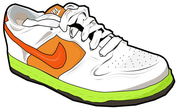 600x367 Vector Nike Shoe By Madygirl