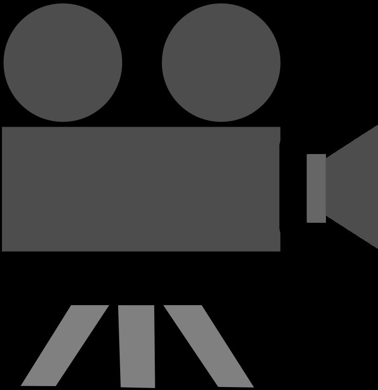 777x800 Movie Camera Clipart