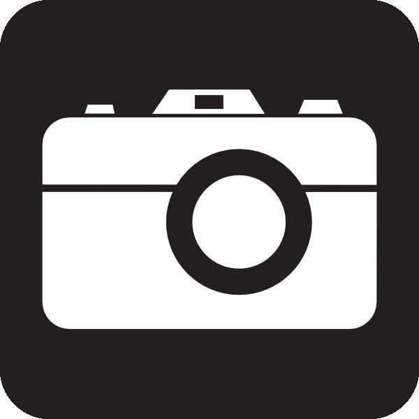 600x600 Camera Icon Clip Art