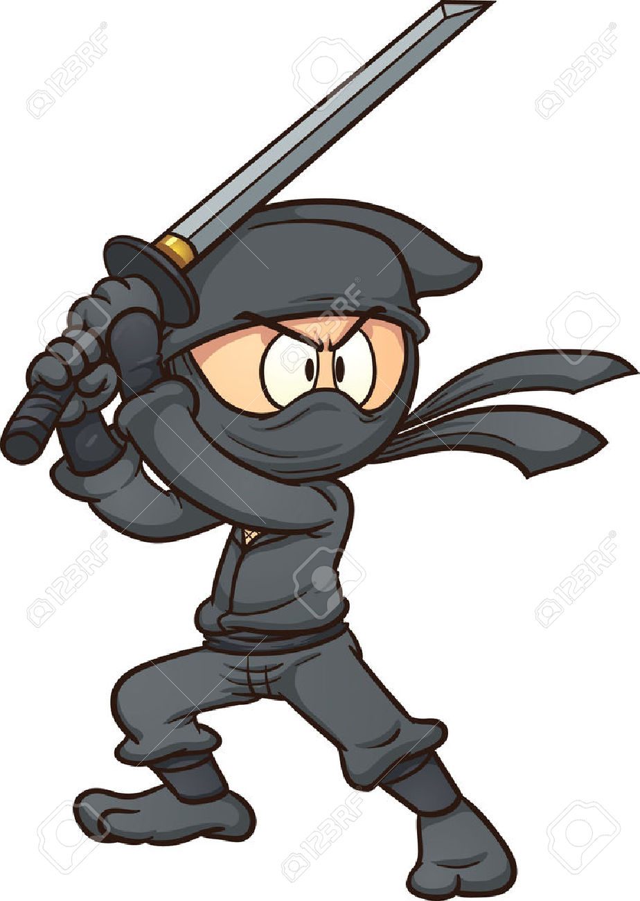 Ninja Clipart | Free download on ClipArtMag