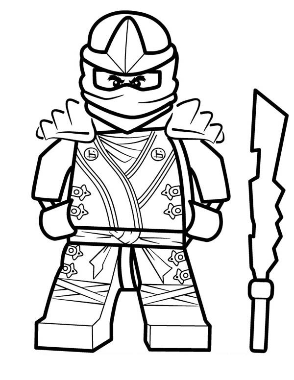 Ninja Coloring Pages Free download