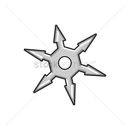 Ninja Star Cliparts | Free download on ClipArtMag