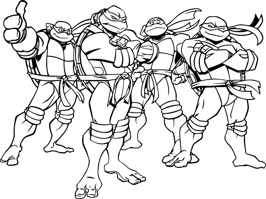 ninja turtles coloring pages free download best ninja turtles