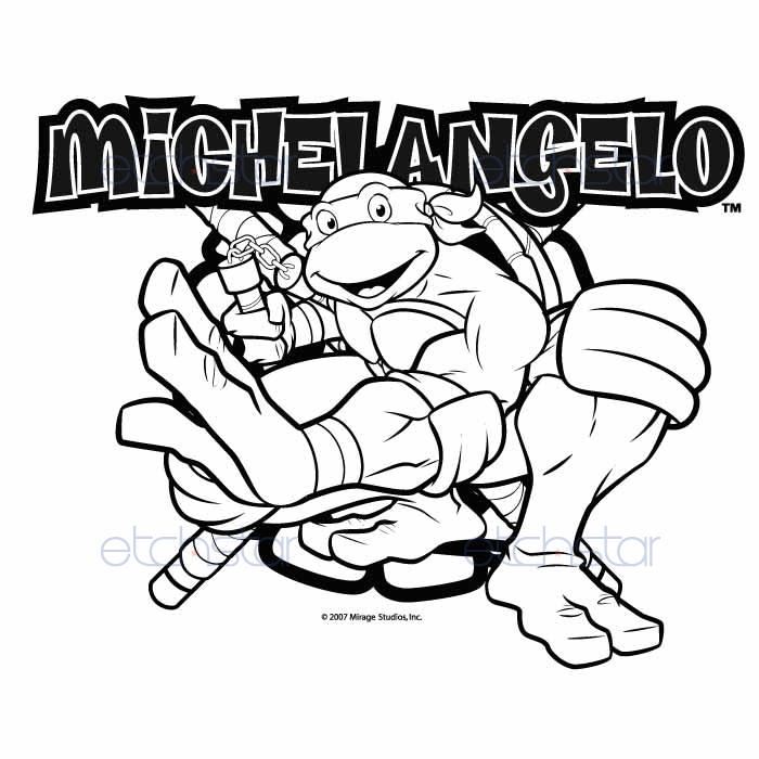 Ninja Turtles Coloring Pages   Free download on ClipArtMag
