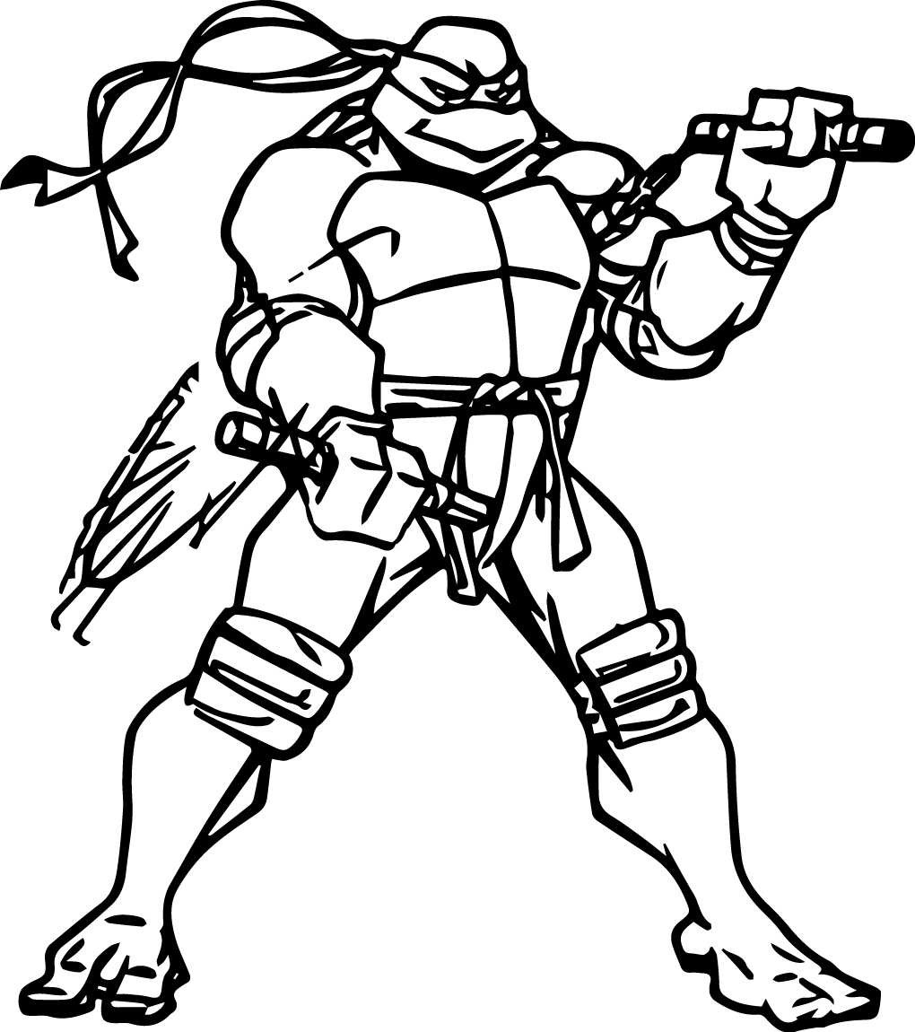 Ninja Turtles Coloring Pages | Free download best Ninja ...
