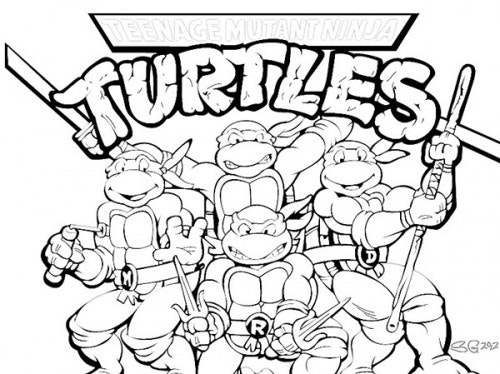 graphic about Teenage Mutant Ninja Turtles Coloring Pages Printable called Ninja Turtles Coloring Web pages Free of charge obtain least difficult Ninja
