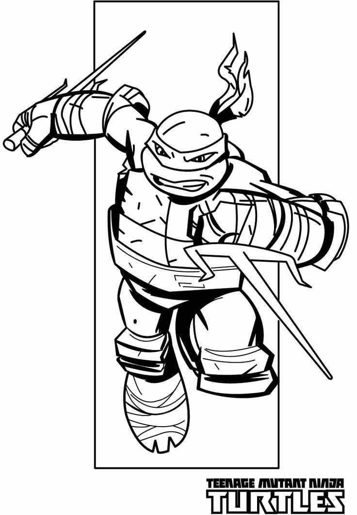 Ninja Turtles Coloring Pages | Free download best Ninja ...