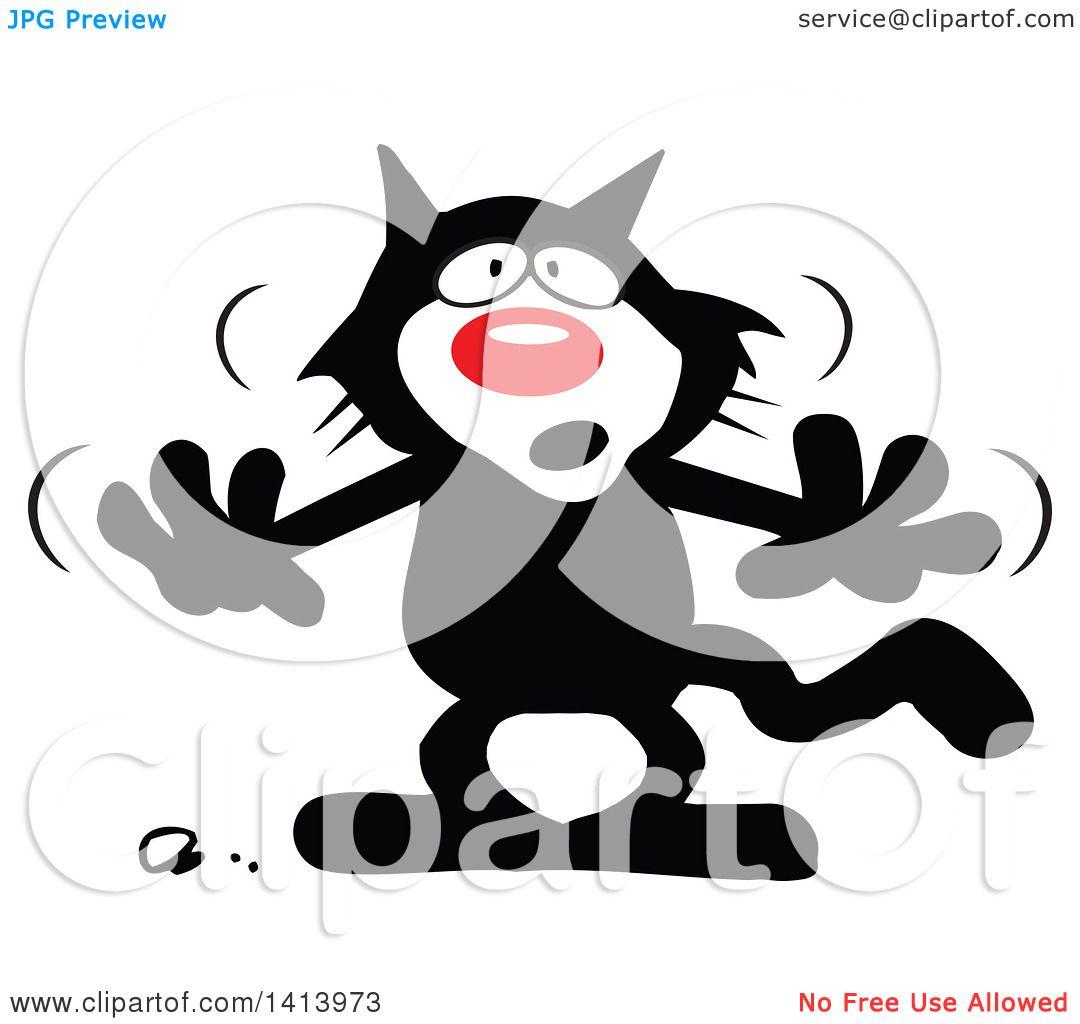 1080x1024 Black Cat Clipart Superstition