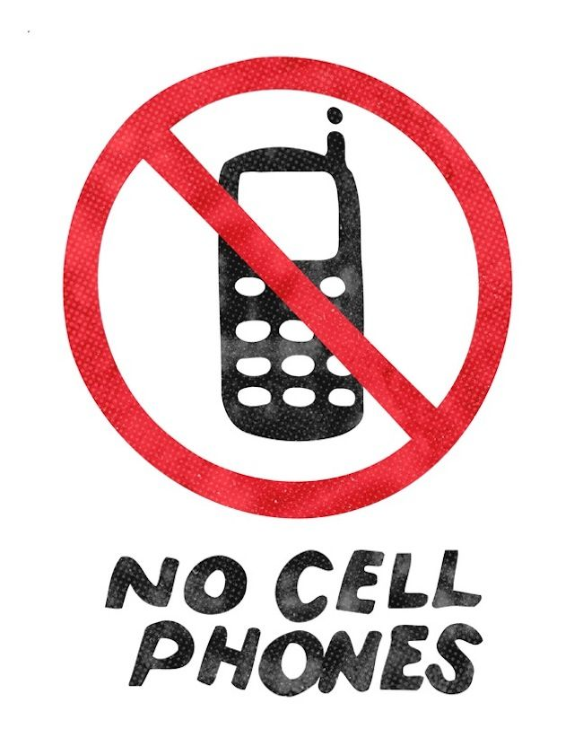 650x841 Best No Cell Phone Sign Ideas Pictures Of Cell