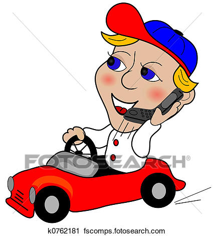427x470 Clip Art Of No Cell Phones While Driving K9571132