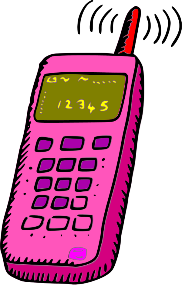 600x938 No Cell Phone Clip Art Clipartix