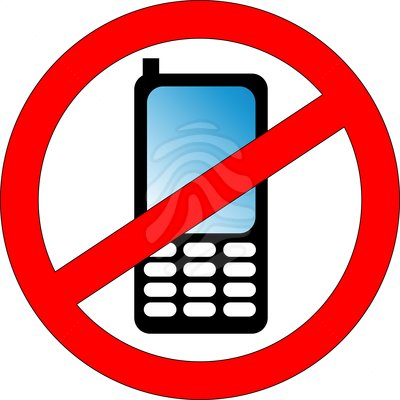 400x400 No Cell Phone Clipart