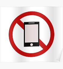 210x230 No Cell Phones Posters Redbubble