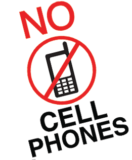 261x318 No Cell Phones Signs Printables By Black Decker Laminating