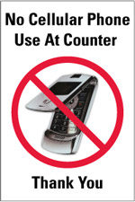 150x225 No Cell Phone Sign, Keep Off Cell Phone Sign And Much More.