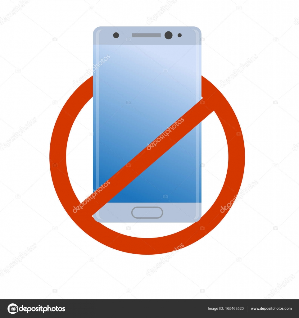 963x1024 No Modern Smartphone Icon. Forbidden Cell Phone. Bad Quality